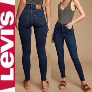 Levi's Mile High Waisted Skinny Jeans